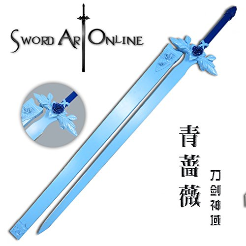 Amazon Com Sword Art Online Alicization Youjio Blue Rose Sword New Color Cosplay Prop Gateway Sword Art Online Sword Art Blue Rose