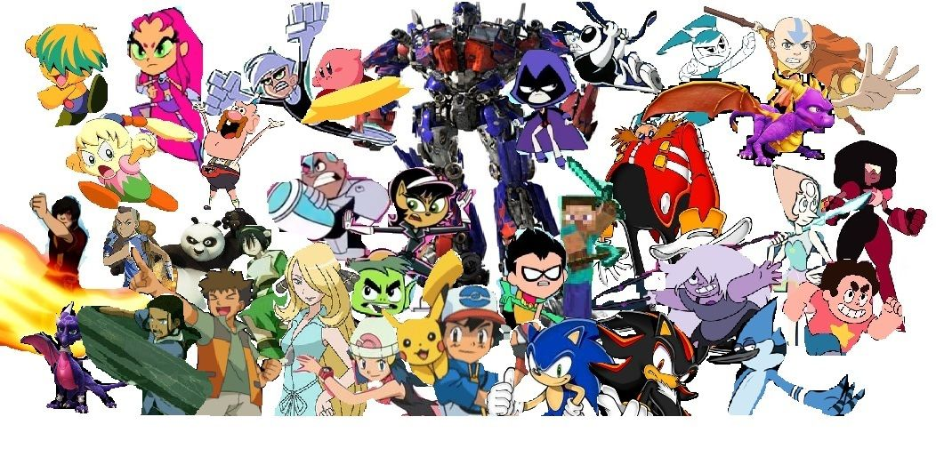 Group of The Ultimate Anime Crossover