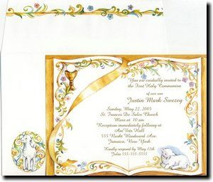 17 Best images about Communion Invitations on Pinterest ...