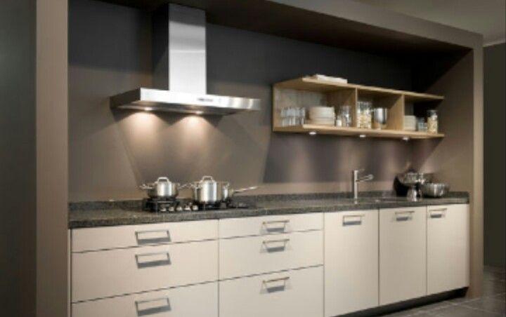 Zwart rechte keuken - Zwart granieten werkblad prijs ...
