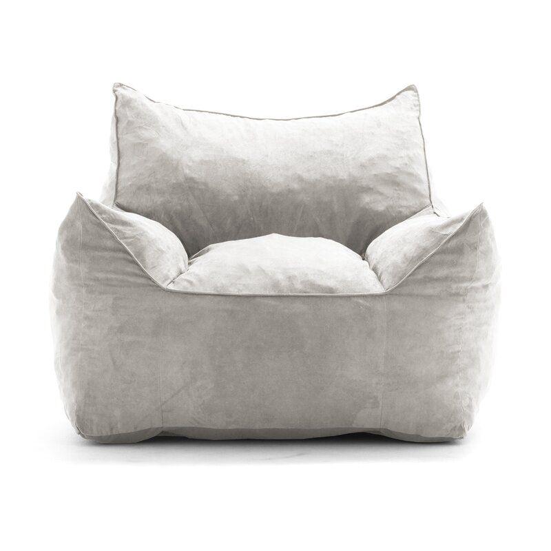 Standard Bean Bag Chair Lounger In 2020 Bean Bag Lounger Bean Bag Chair Bean Bag Sofa
