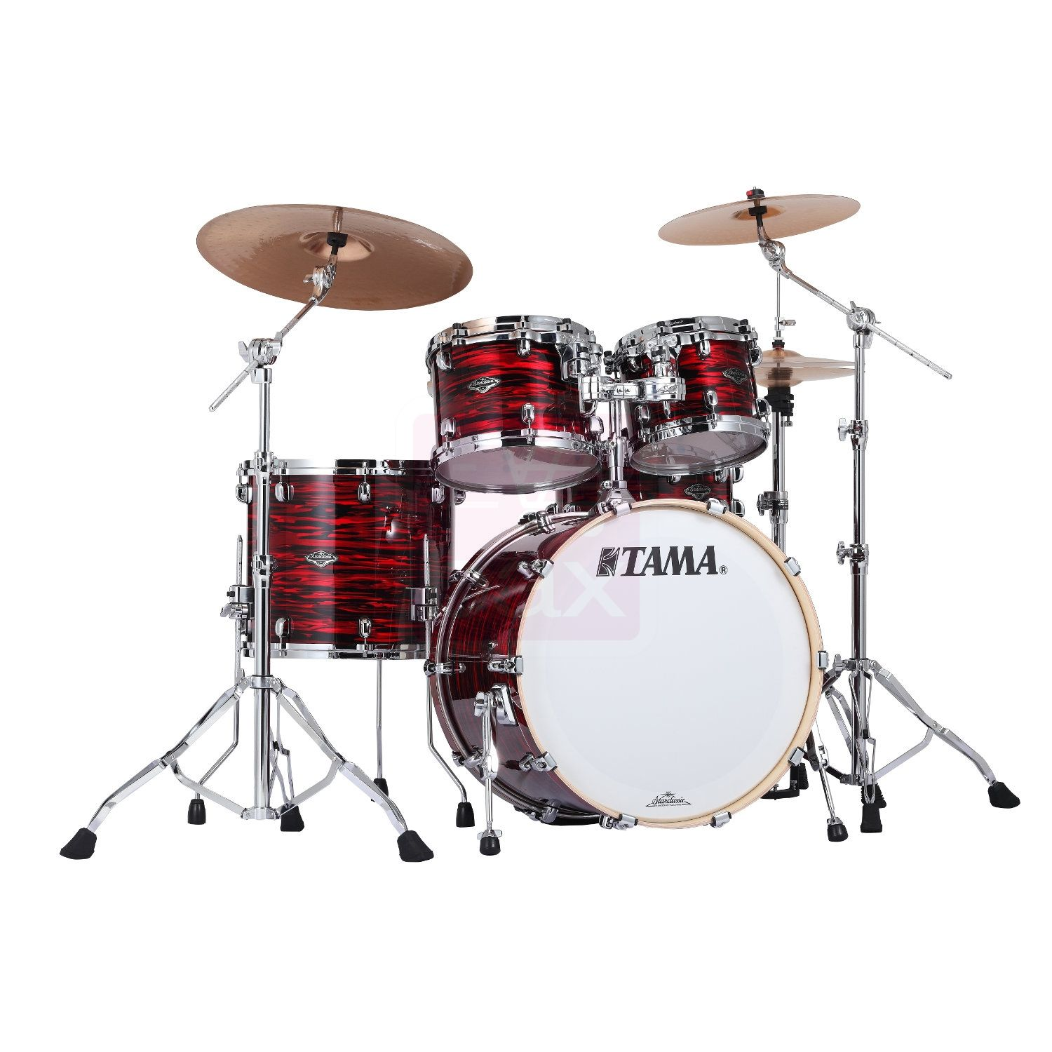 starclassic performer b b red oyster tama drums drums drum tuning evans drum heads. Black Bedroom Furniture Sets. Home Design Ideas