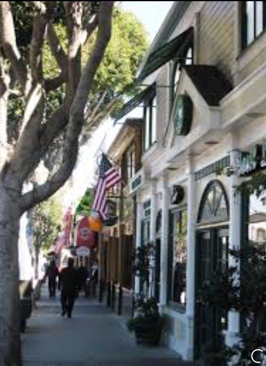 Main Street In Seal Beach Ca