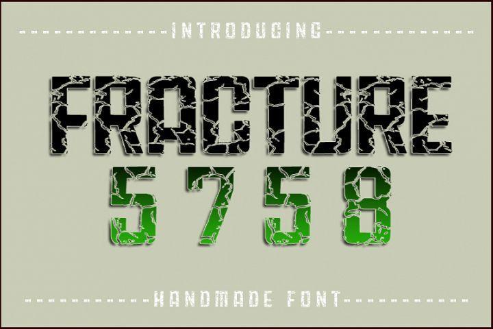 Download Fracture5758 | New fonts, Font packs, Premium fonts
