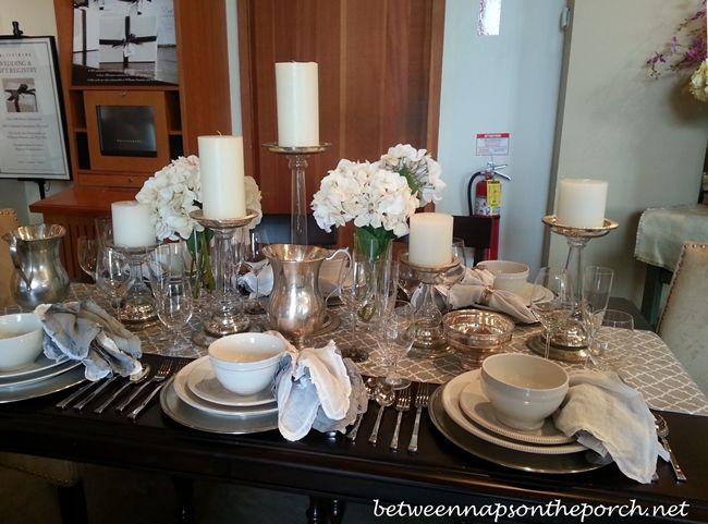 Table Setting Ideas For Fall