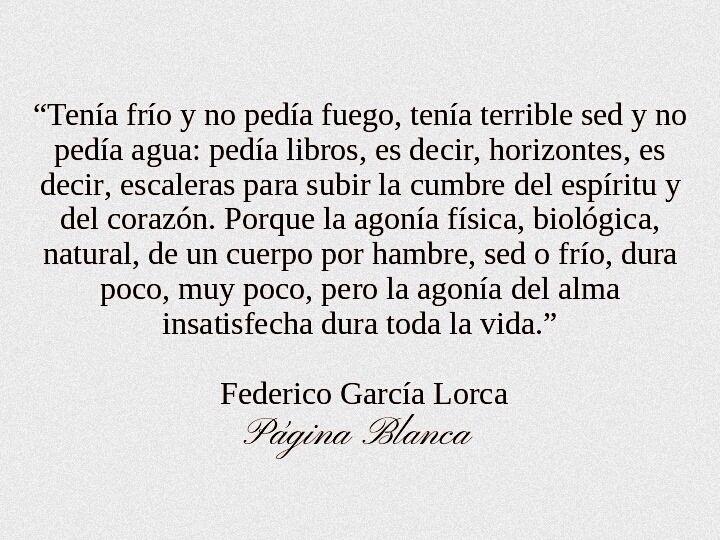 Federico García Lorca Frases Literatura Federico Garcia Lorca Frases Poemas Cortos