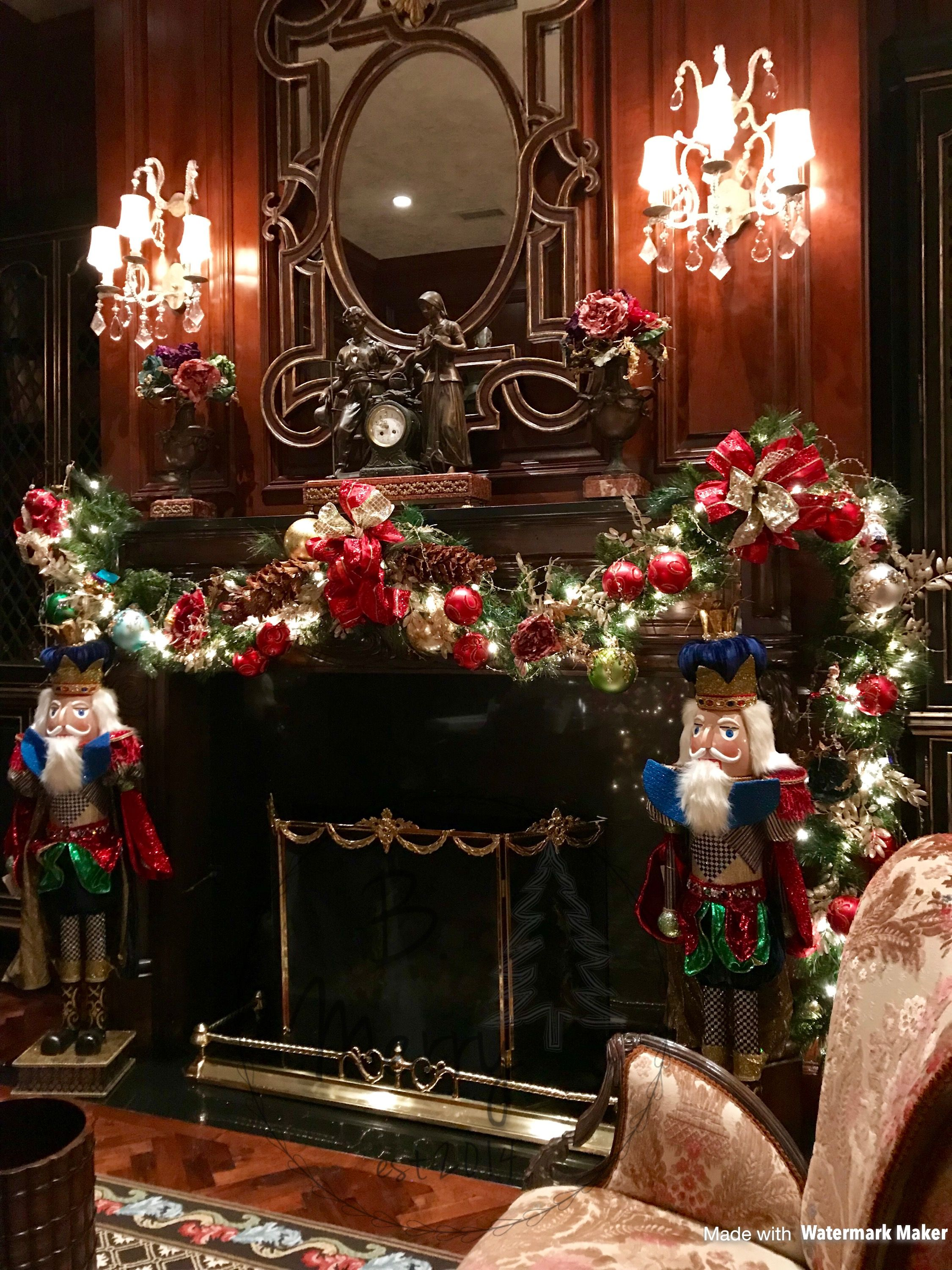 Pin by B. Merry Holiday Decorating on Christmas garlands