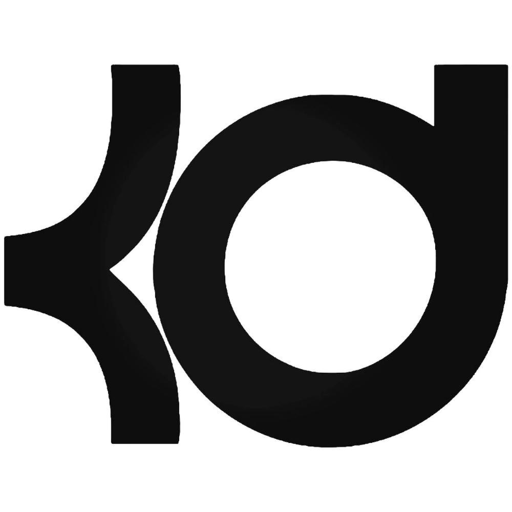 Kd Logo Google Search Vinyl Decal Stickers Vinyl Kevin Durant