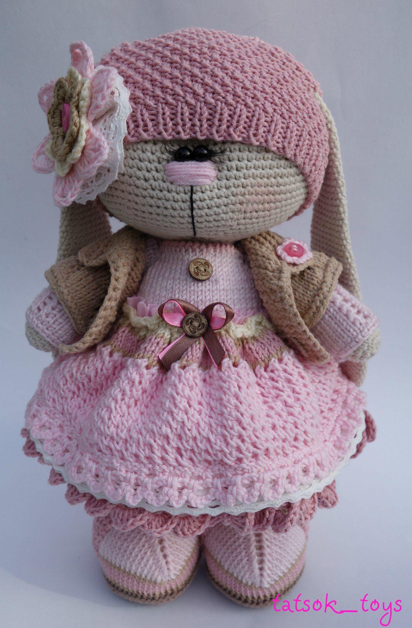 ВЯЗАНЫЕ ЗАЙЦЫ / handmade bunnies | игрушки | Вязание ...