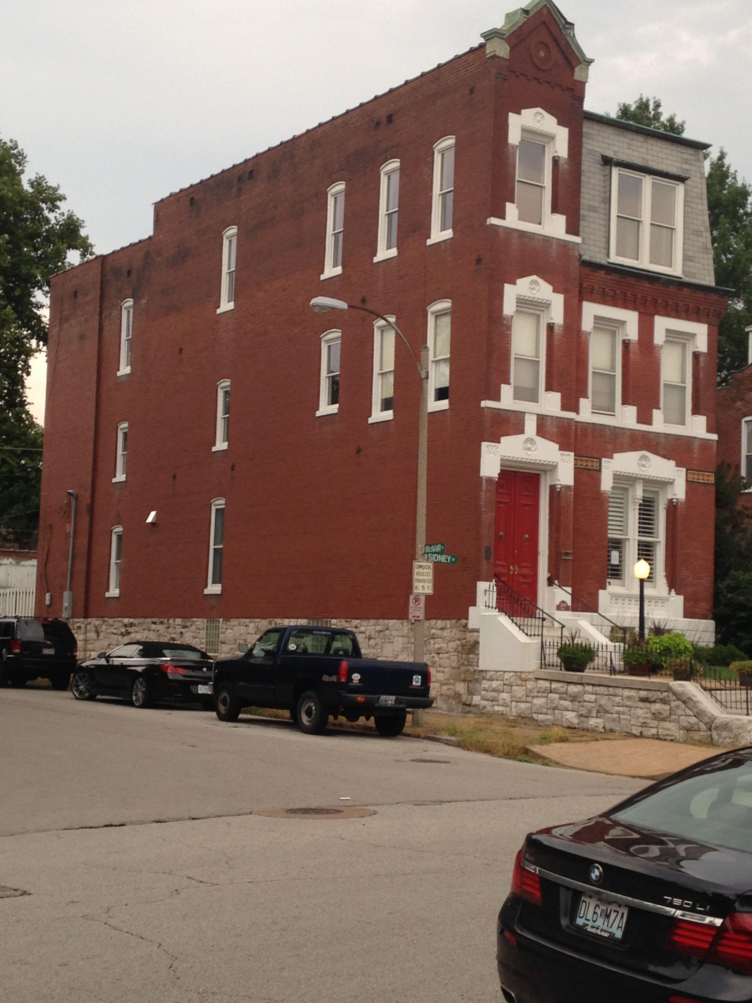 Benton Park House Formerly With St Agnes Church Down The Street Park Homes Street House