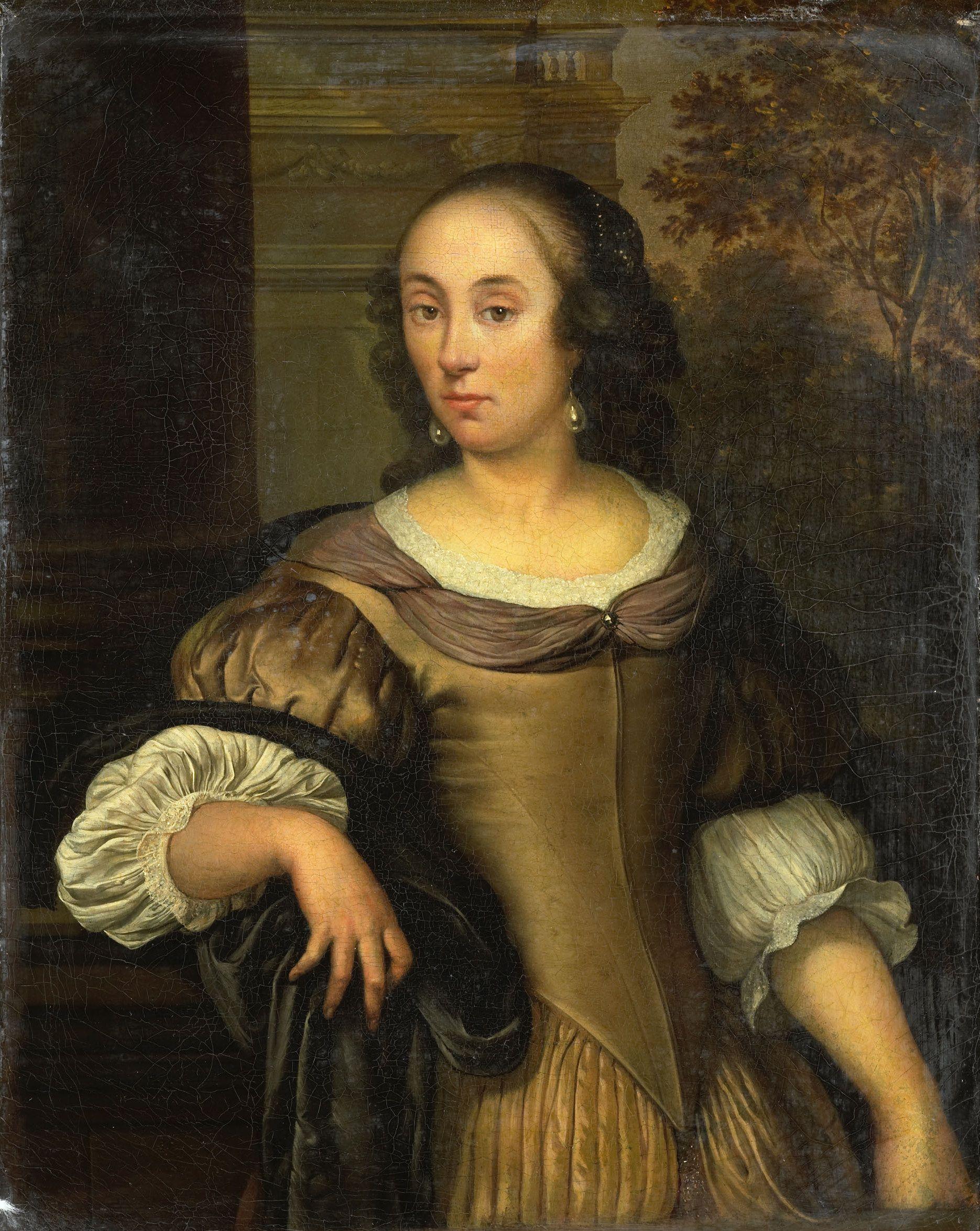 Eglon van der Neer - Portret van een jonge vrouw