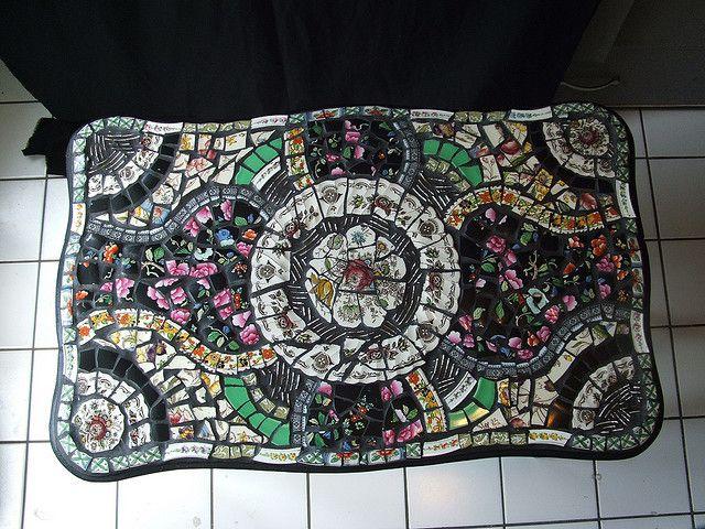 Mosaic Table Top Mosaic Table Top Mosaic Table Mosaic