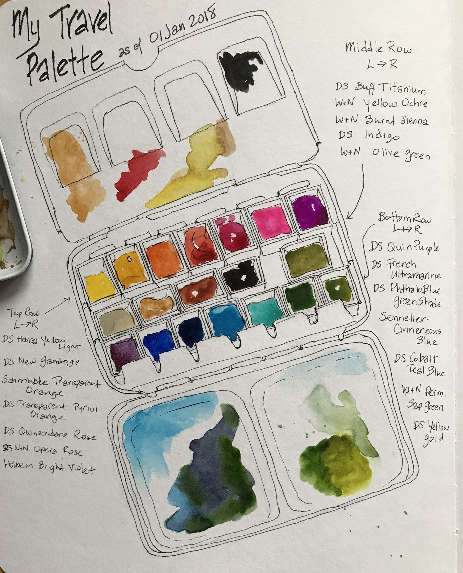 Watercolor Butterfly And Iridescent Medium Painting Tutorial