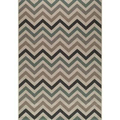 Momeni Baja Sage 4 Ft X 6 Ft Indoor Outdoor Area Rug