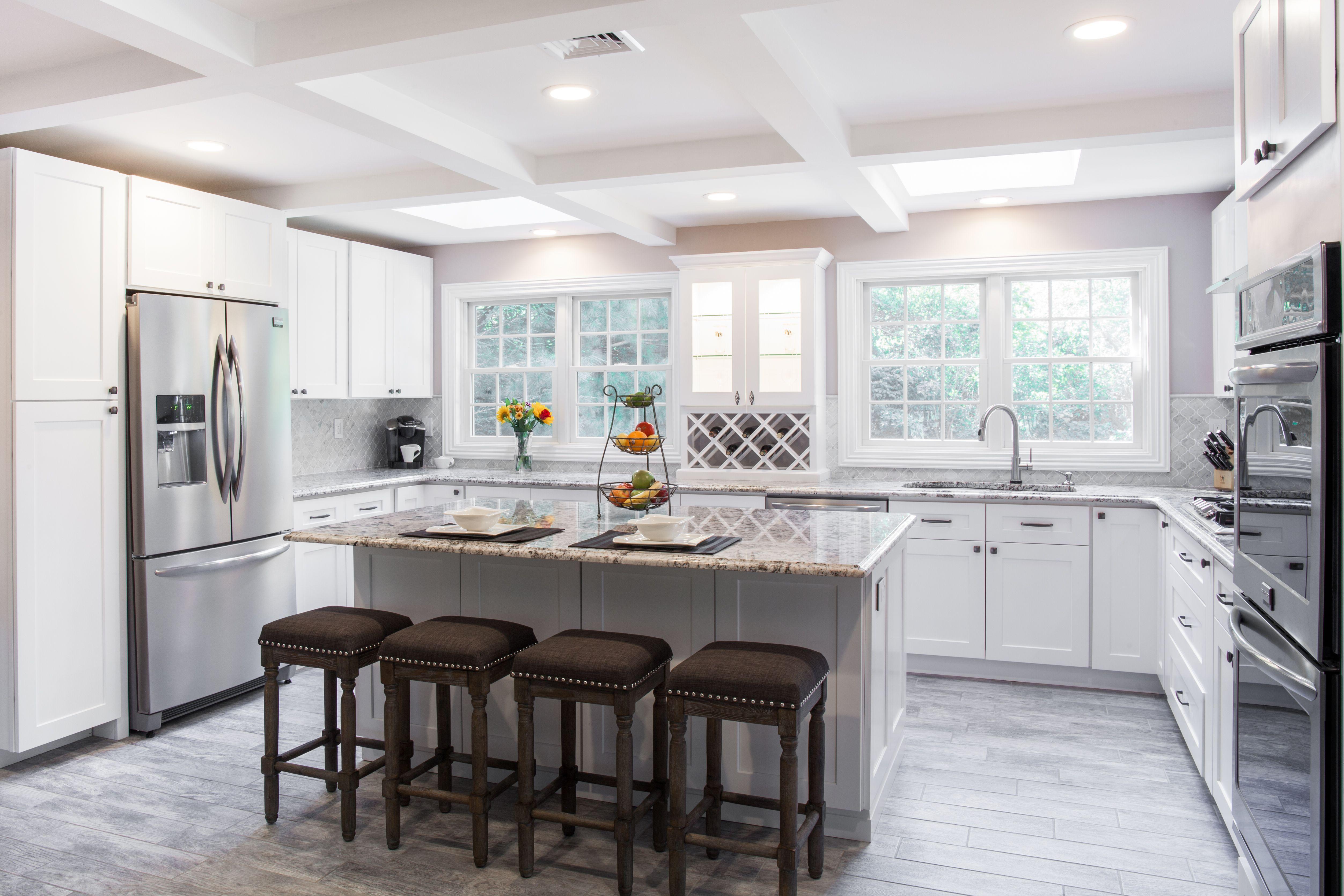 Home Cabinet Westbury S8 Style White Maple Kitchen Cabinets Door
