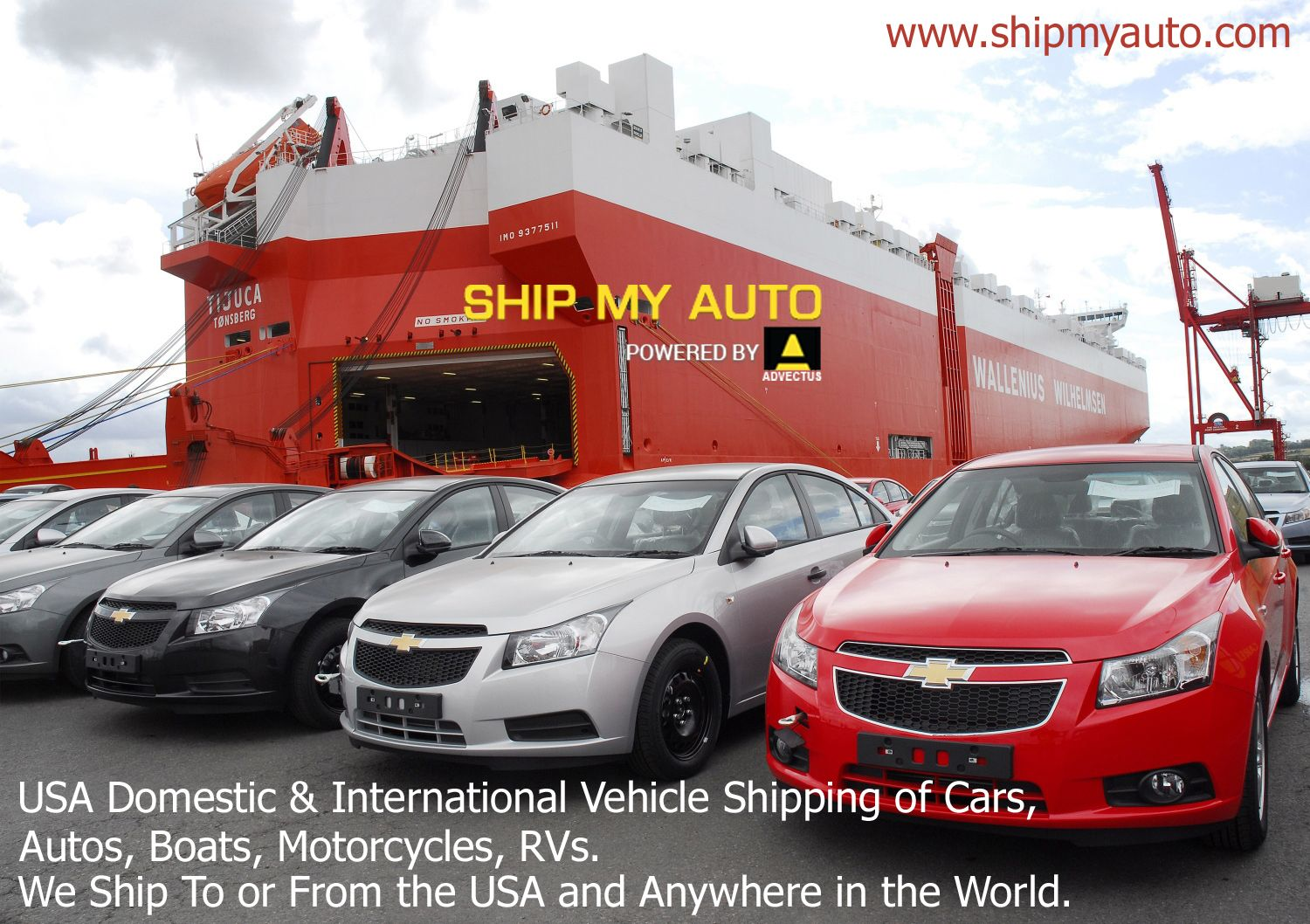 Usa Domestic International Vehicle Shipping Of Cars Autos
