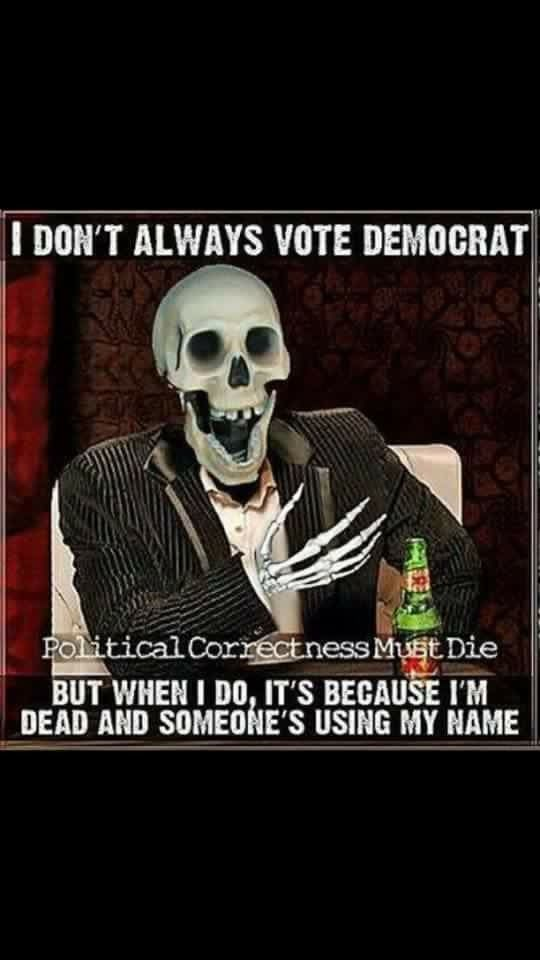 Image result for The Dead will vote