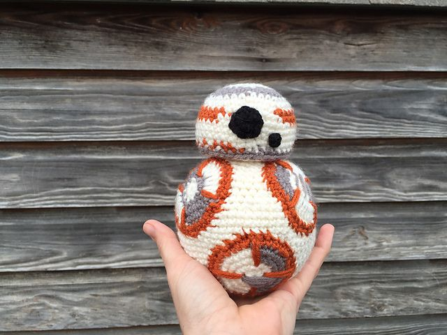 Ravelry: BB-8 inspired by Star Wars: The Force Awakens pattern by ...