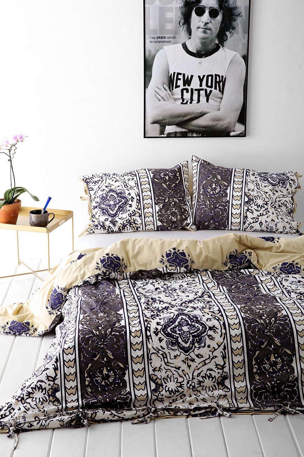 Magical Thinking Boho Stripe Duvet Cover Duvet Covers Urban Outfitters Duvet Covers Urban Bedding