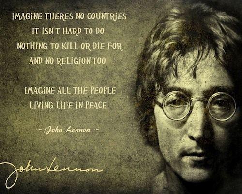 John Lennons Imagine As A Social Commentary