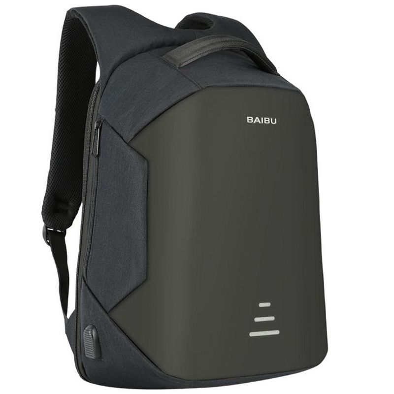 Antitheft Travel Backpack Business Laptop Book School Bag with USB Charging  Port 72ea302ccd5c3