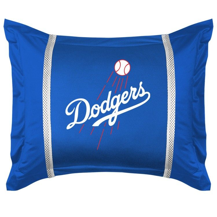Los Angeles La Dodgers Mlb Sidelines Pillow Sham Cover Case Dodgers Los Angeles Dodgers La Dodgers