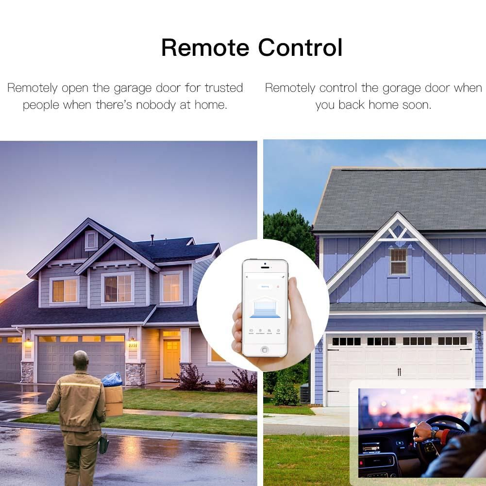 By Moeshouse Wifi Smart Garage Door Samsung Homeautomation Newconstruction Diy Travel Technology Lg Googleh Garage Door Controller Garage Doors Garage