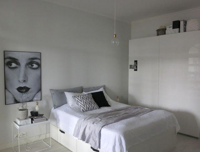 Bett, Schlafzimmer, Bild!
