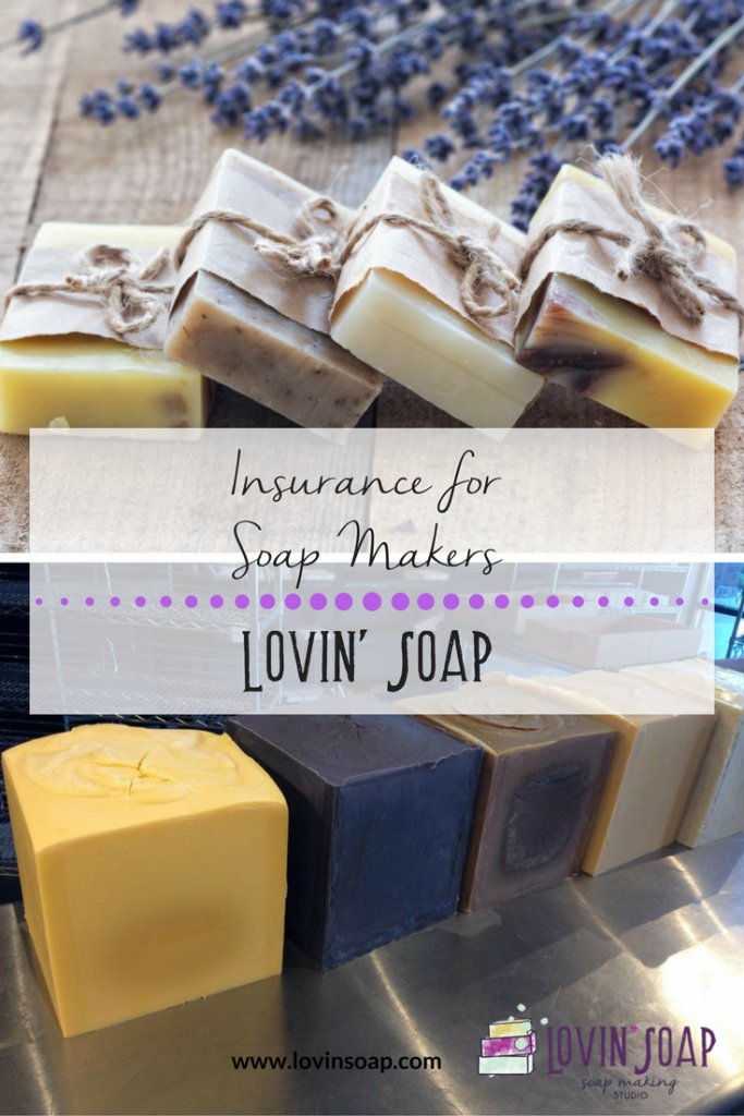 insurance for soap makers - Soap | Handmade Soap | DIY Soap | Soap Making | Soapmaking | Learn to make soap | Natural Soap | Soap Recipe | Soap Tutorial