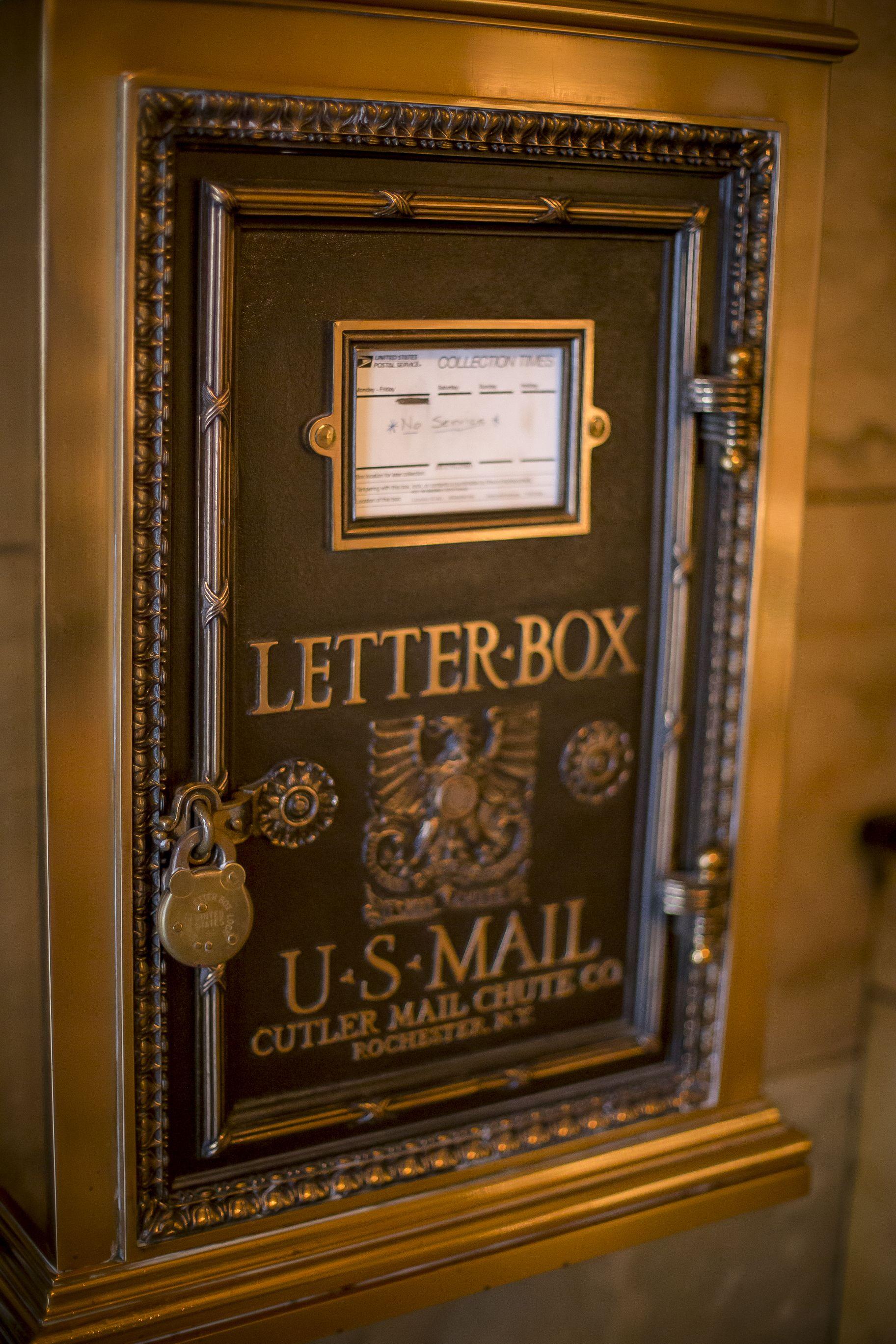 Original Drop Box Located in Foyer