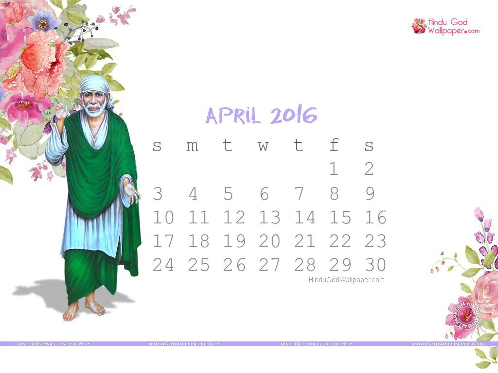 Desktop Calendar Wallpaper April 2016  Desktop Calendar