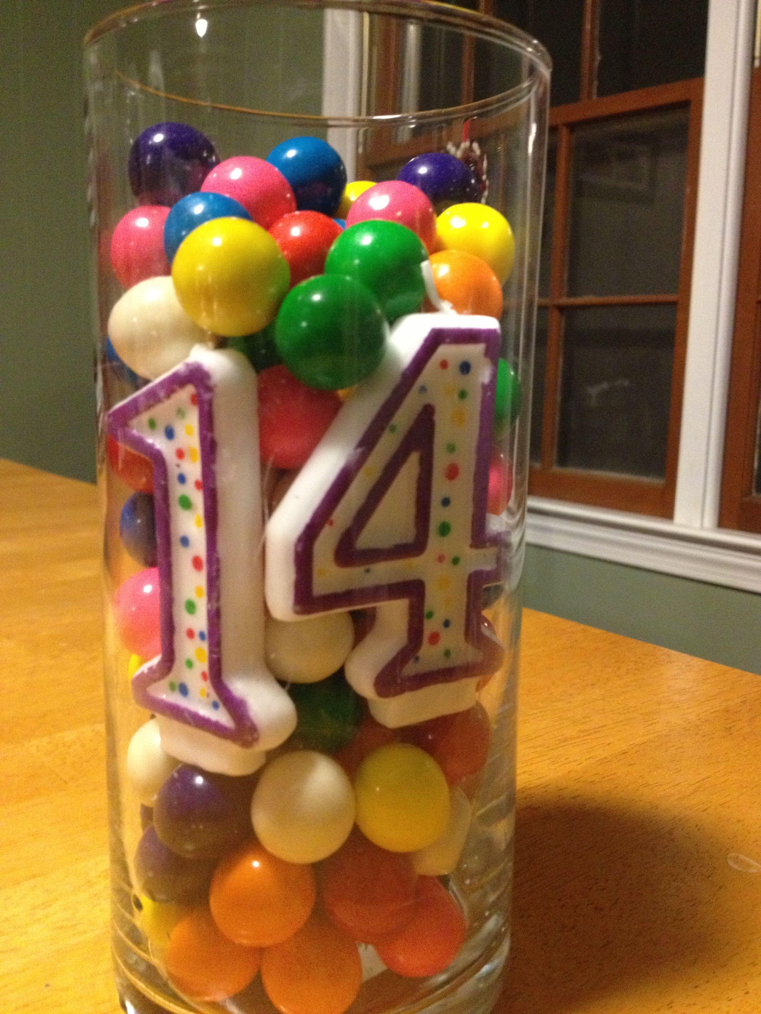 14th Birthday T Favor Idea