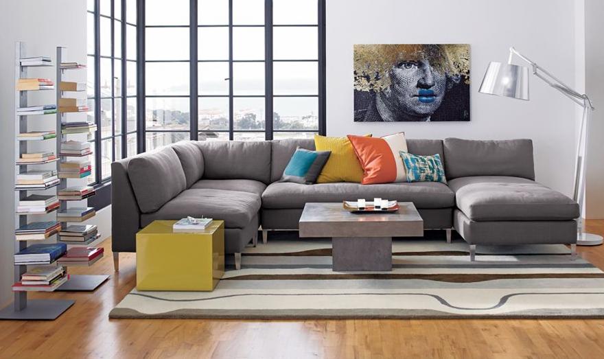 cb2 sectional sofa sectional sofa on sofa govasan : cb2 cielo sectional - Sectionals, Sofas & Couches