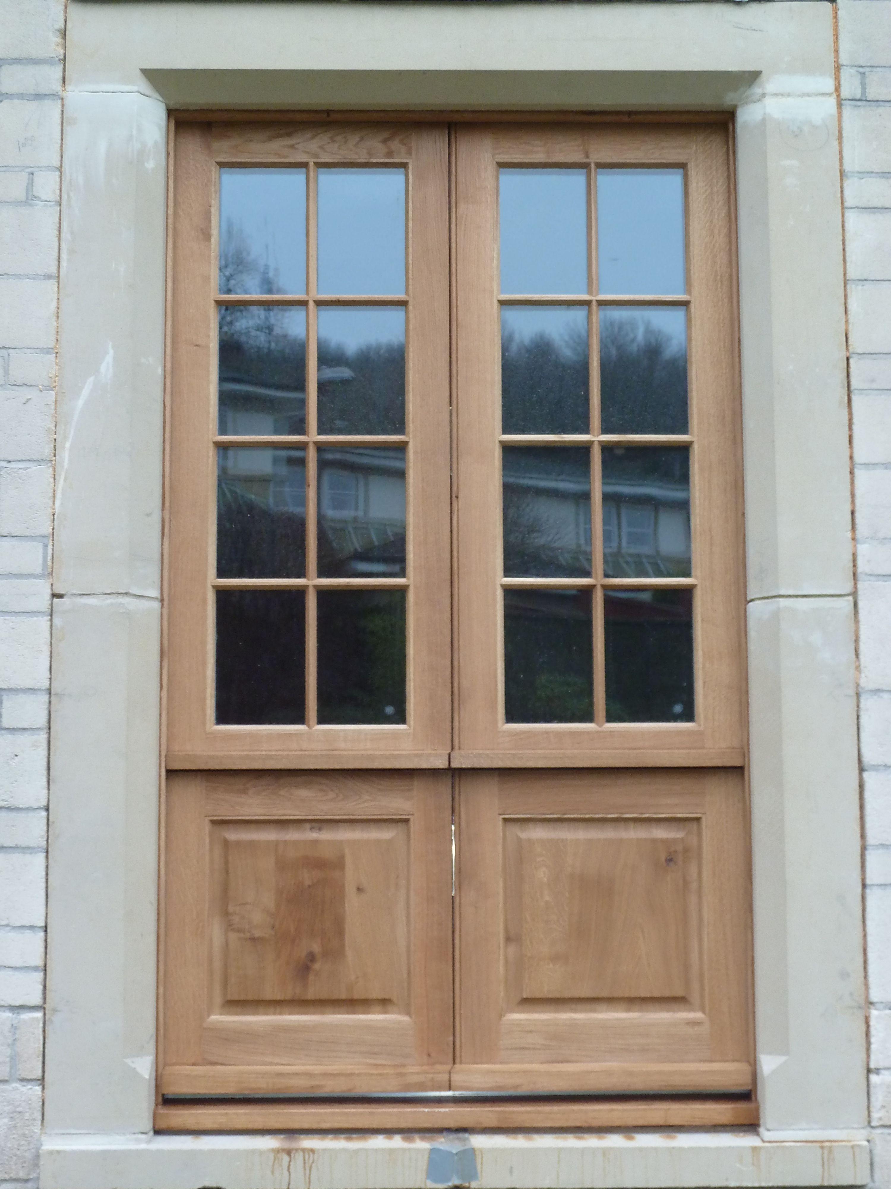 Oak Double Stable Doors Double Glazed Made By K Pitman Joinery