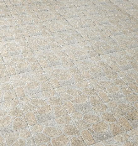 Sol Exterieur Gres Cerame Emaille 30 5 X 30 5cm Modele Wulka Beige Ep 7 Mm Joint Conseille 10 Mm Gres Cerame Carrelage Gres