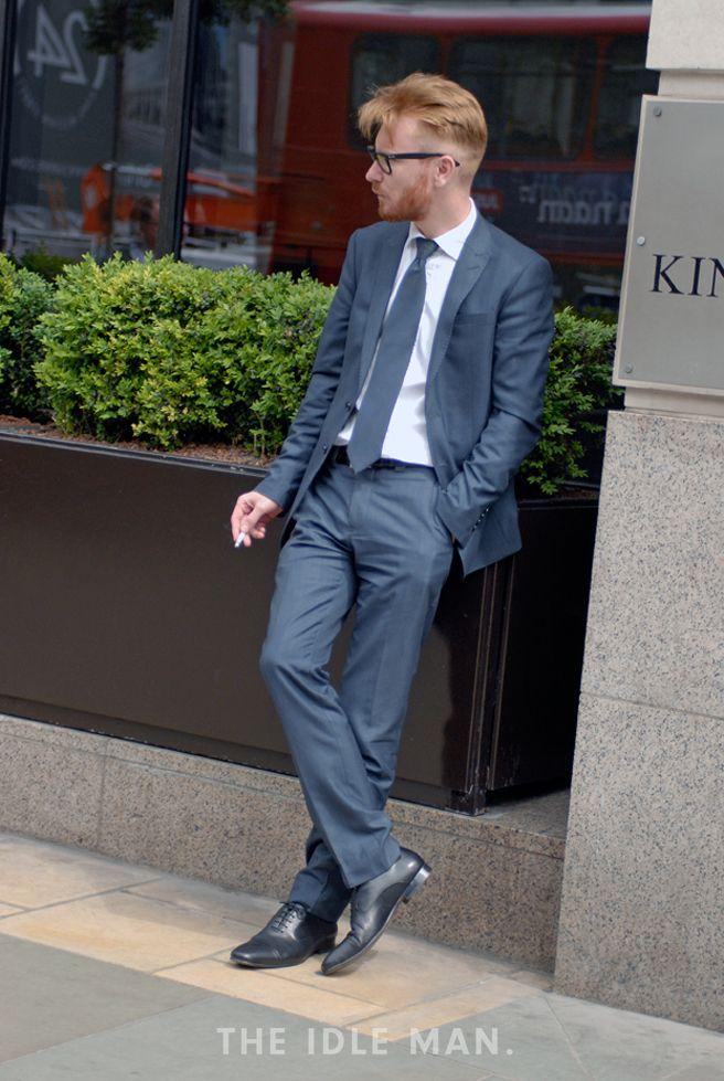 Men's Street Style - Suit & Tie