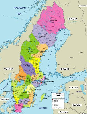karta på sverige Karta över Sverige Provinsen bild | Resa med barn | Pinterest karta på sverige