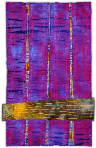 Karen Schulz: Fiber Artist - Gallery 4 - Abstract Work