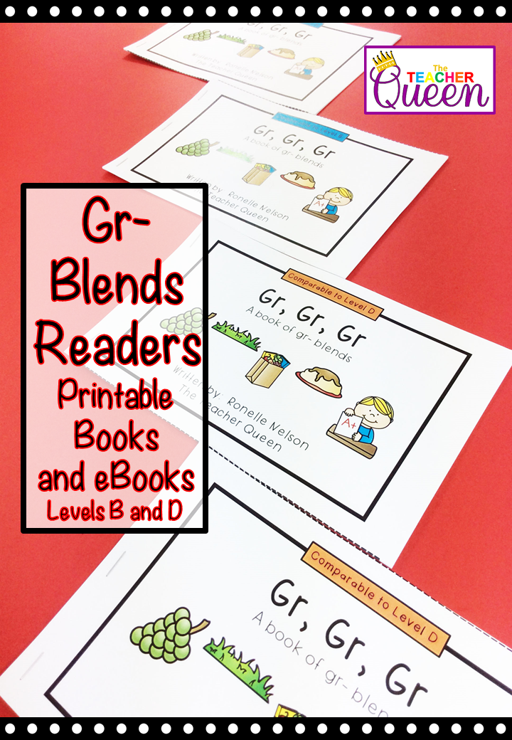 Gr Blend Readers Levels B And D Printable Books And Ebooks