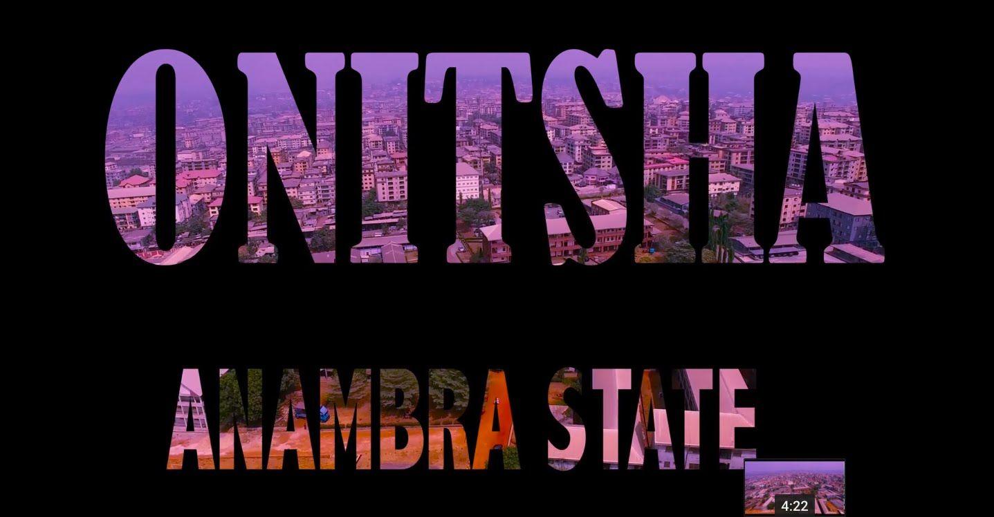 Onitsha Anambra State Nigeria DJI 4K Drone Video Onitsha
