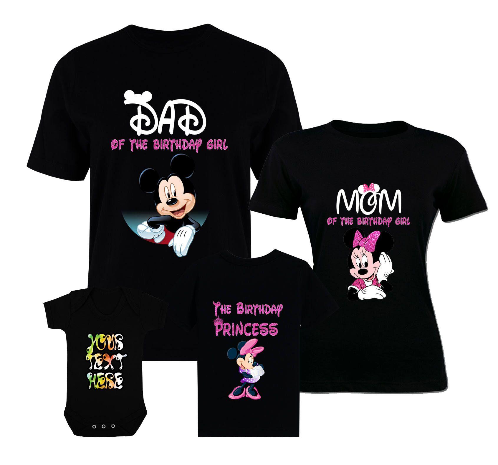 Birthday disney shirts mickey mouse family shirts birthday
