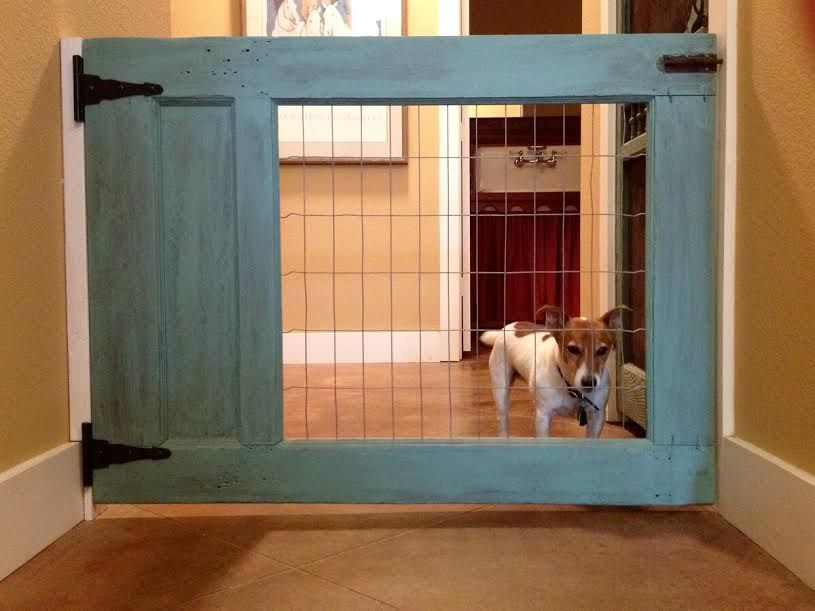 Terrierman S Daily Dose A Simple Low Cost Hallway Barrier Dog Gate Pet Gate Wood Dog