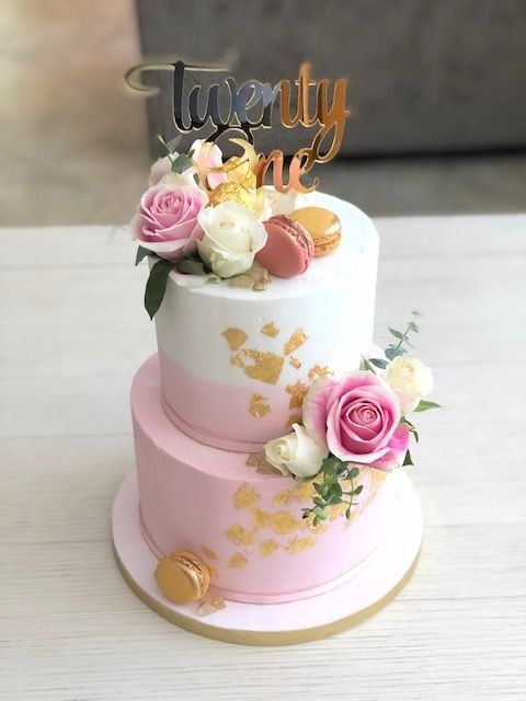 Pretty Cakes For Girls in 2020 | Birthday cakes for women ...