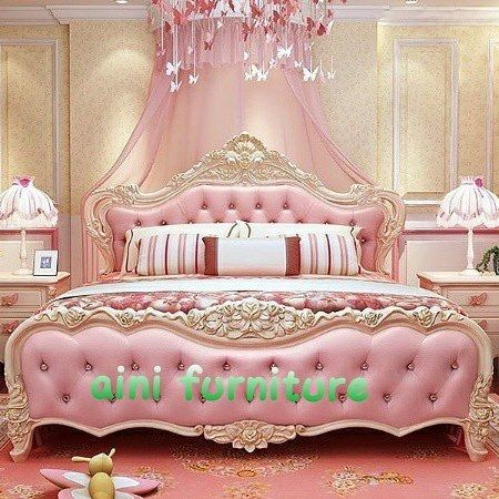 Yatak Odasi Uyku Fancy Bed Pink Bedroom Decor Bedroom Deco