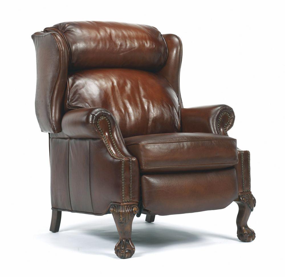 St Albert High Leg Recliner Leather Furniture Flexsteel