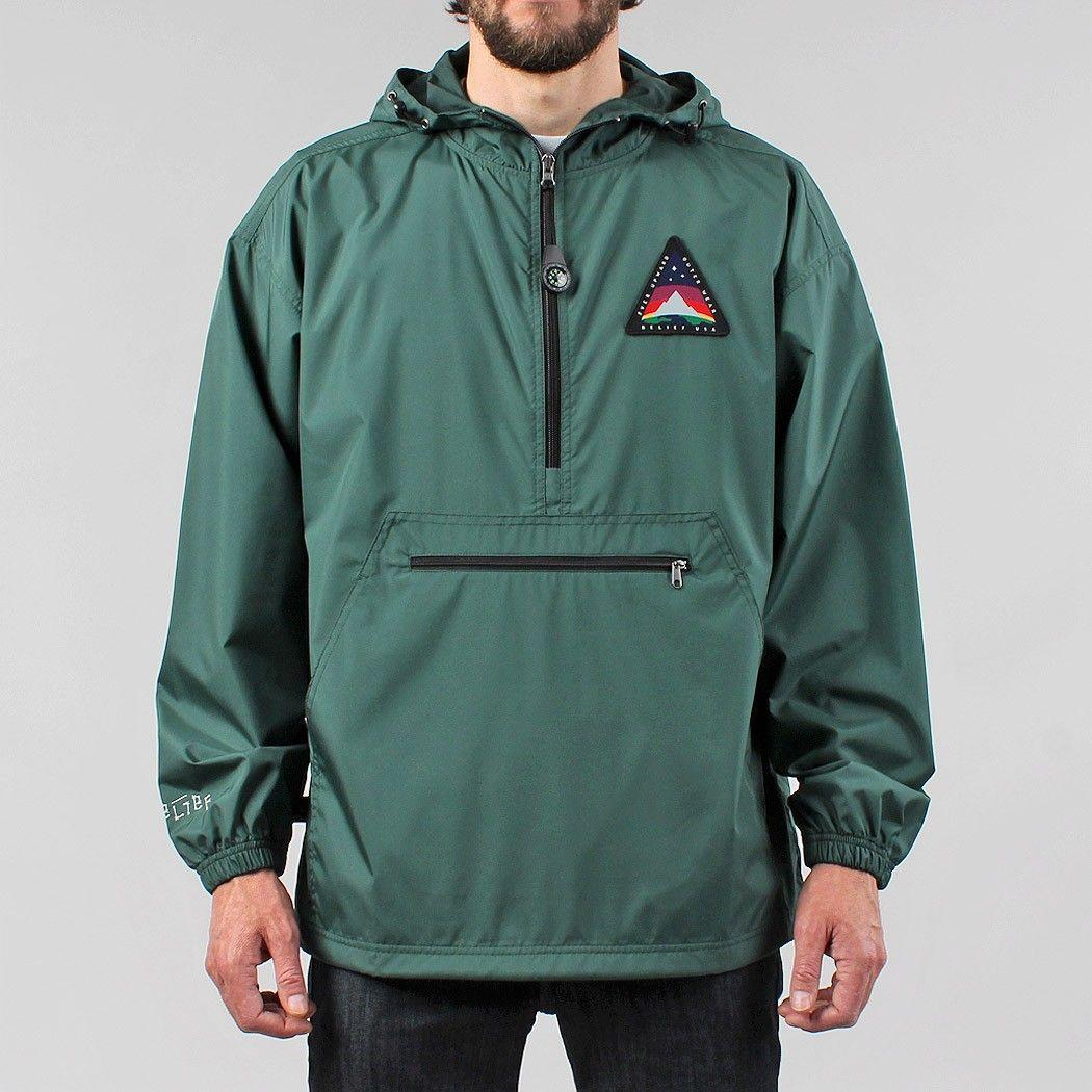 Belief Northern Windbreaker Jacket - Forest