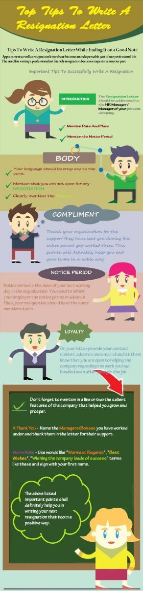 10 Tips To Write A Resignation Letter While Ending It On A Good Note