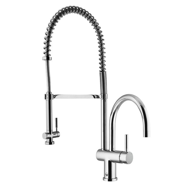 Chrome Pull-Down Spray Kitchen Faucet VG02006CH - buy, prices ...