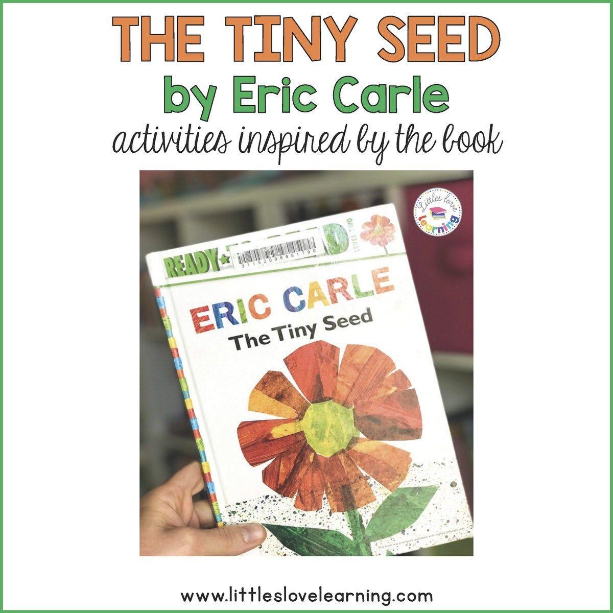 The Tiny Seed Activities For Preschool And Kindergarten