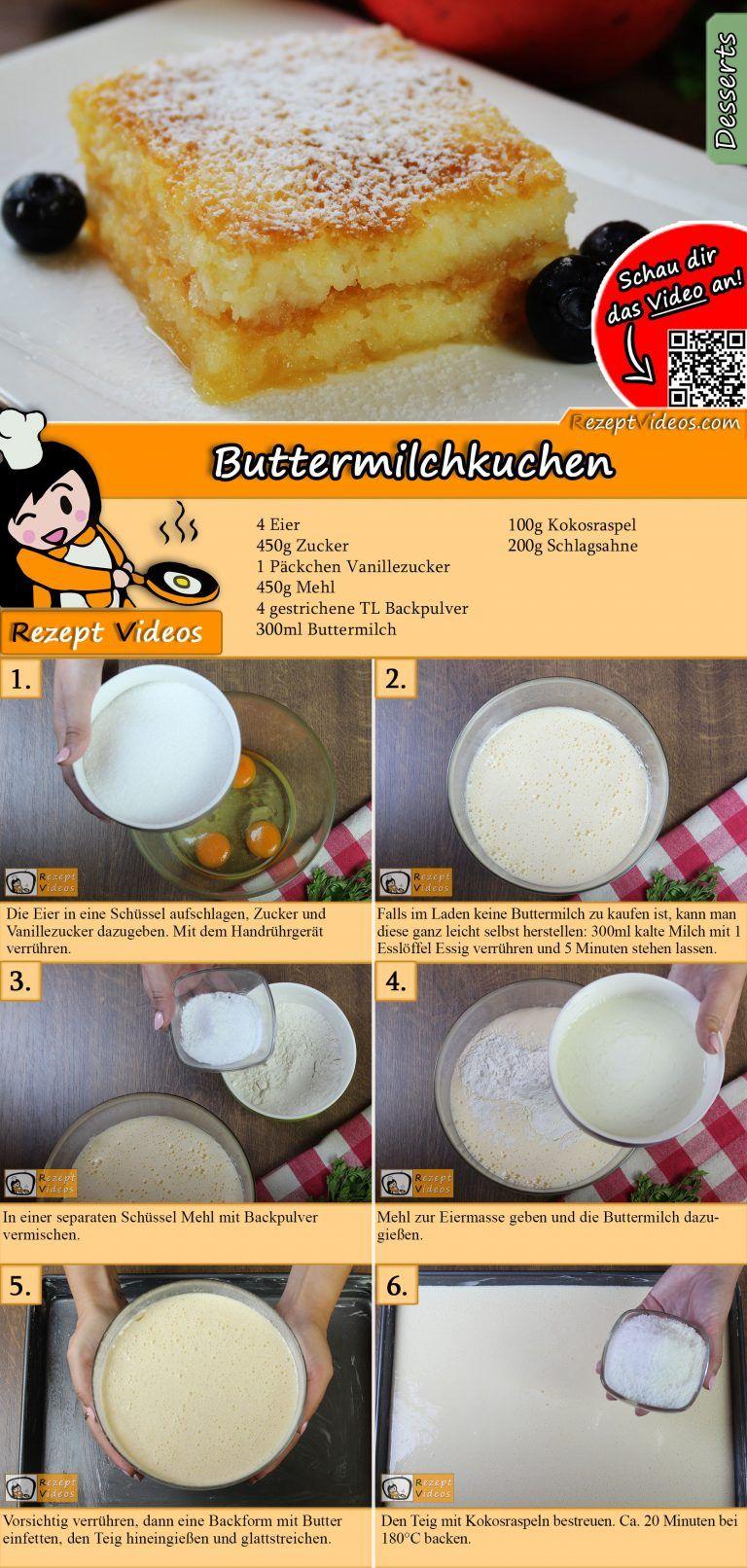 Buttermilchkuchen #japanischerkäsekuchen